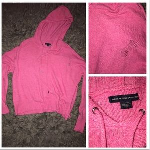 American Eagle distressed sweater